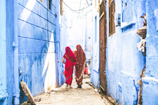 India Jodhpur Blue City Women