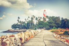 India Kovalam Lighthouse